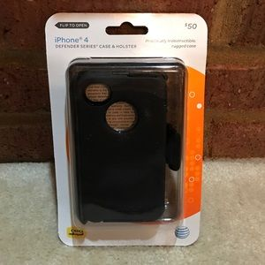 OtterBox Accessories - Black iPhone 4 Case & Holster