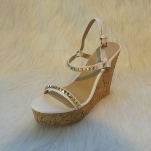 Liliana Shoes - 161 Ron nieto White Wedges