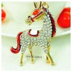 Accessories - Jeweled Horse