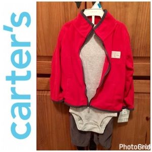 Carter's Other - 🎉Host Pick🎉 Carters Boy 24 M NWT 3 Piece Outfit