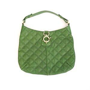 J.Crew Green Leather Handbag