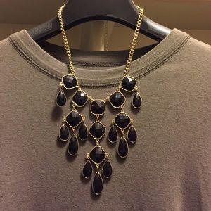 Nordstrom Jewelry - Nordstrom Black Stone statement necklace