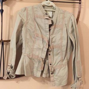Cleaning hinge jacket