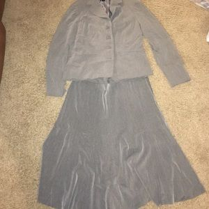 East 5th Jackets & Blazers - ✅💕SALE💕Light Gray suit jacket