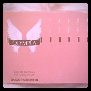 100% AUTHENTIC OLYMPEA sample packs