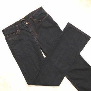 Joe's Jeans Dark Wash Straight Leg Denim
