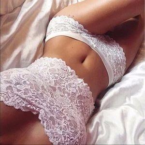 wearinla Other - LAST 1 🔥 Lace lingerie set white bra panty