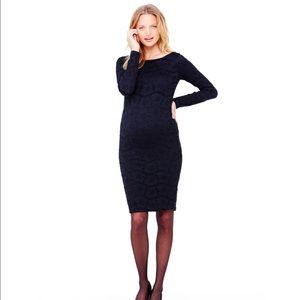 Ingrid & Isabel Dresses & Skirts - Ingrid & Isabel Boatneck Lace Maternity Dress