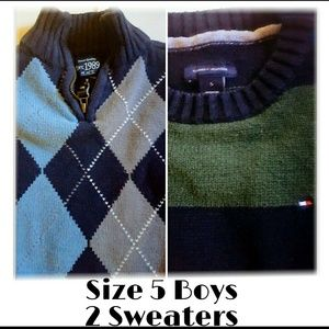 Children's Place Other - Lot of 2 Boys Sweaters