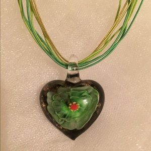 Jewelry - Beautiful glass pendant