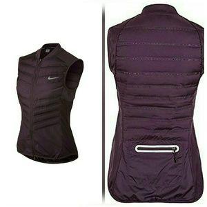 Nike Jackets & Blazers - Nike Aeroloft Purple Down Running Vest