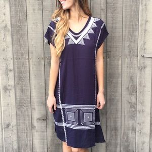 | new | embroidered dress