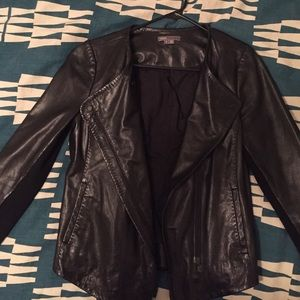 Vince Camuto 100% leather moto jacket
