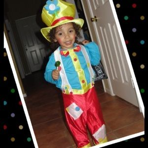Other - Toddler Clown Get-up