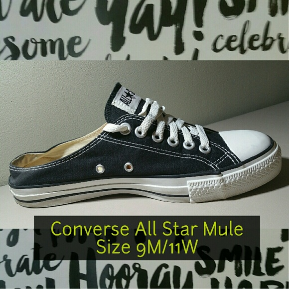 1b6c3f63afa Converse Shoes - RARE Converse All Star Mule Slip On