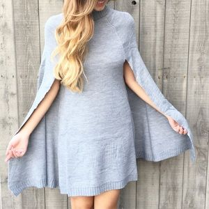 Dresses & Skirts - sweater cape dress