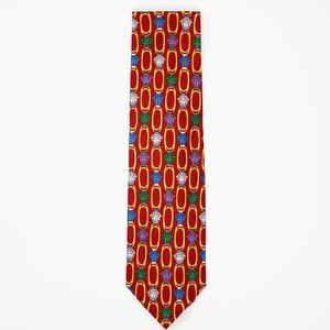 Versace Other - ❄️🎁Gianni Versace - Printed Silk Tie - NWT