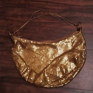 La Regale Handbags - Gold purse