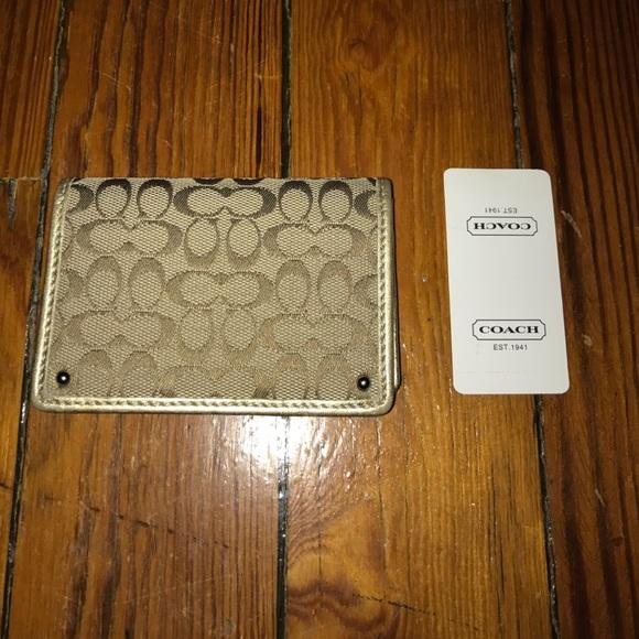27 off coach accessories coach business card holder for Business card holder coach
