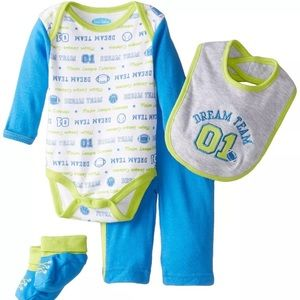 Bon Bebe Other - Bon Bebe 6-9 Months Baby Boys Outfit