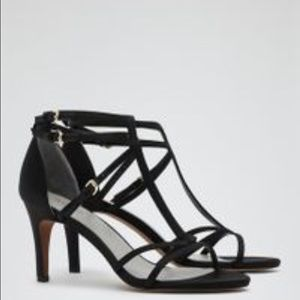 Reiss Shoes - NWT REISS black strappy Sandals sz 8