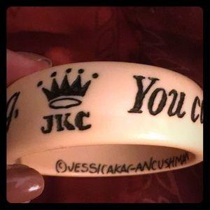 JKC Jessica Kagan Cushman Bracelet Cuff Bangle NEW