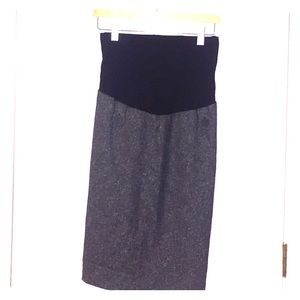 Motherhood Maternity Skirt Size L-EUC