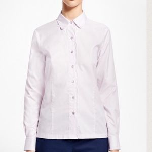 Brooks Brothers Tops - Brooks Brothers Cotton Dobby Shirt Light Purple