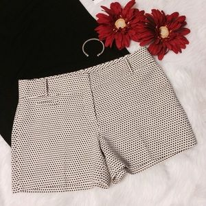 Loft Dressy Polka Dot Shorts