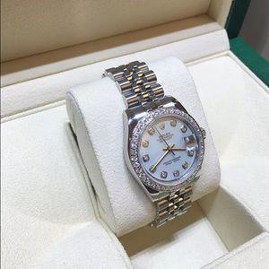 Rolex Accessories - Ladies Rolex Midsize Watch 178240 STAINLESS STEEL