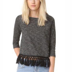 Jack by BB Dakota fringed sweater top.