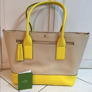 Brand new Kate spade leather tote bag