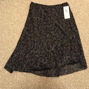 Nwt Sunny Leigh ruffled skirt m