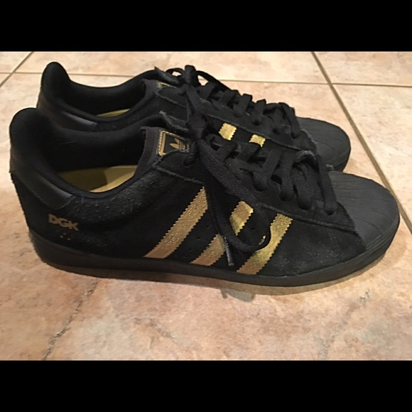 Adidas Superstar 80s (White, Black & Chalk) End Clothing