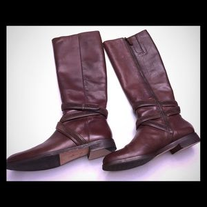 Cole Haan Shoes - Cole Haan Braelyn Boots-Chestnut, Size 7.5