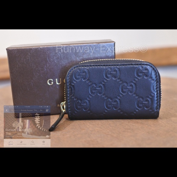 f6cd1ce5f38 Sale Gucci GG Guccissima mini zip coin purse
