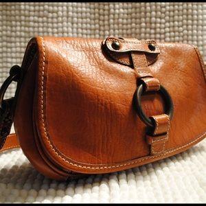 ⚠️Clearance⚠️ BR leather saddle purse