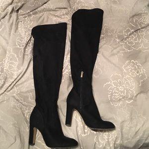 Ivanka Trump Shoes - Black Ivanka Trump over the knee boots