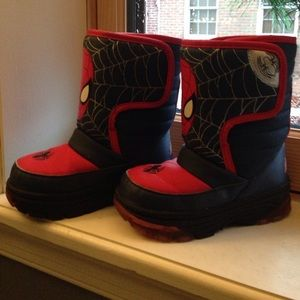 Marvel Other - Spider-Man Light Up snow boots