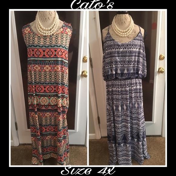 Cato Plus Size Maxi Dress Erkalnathandedecker