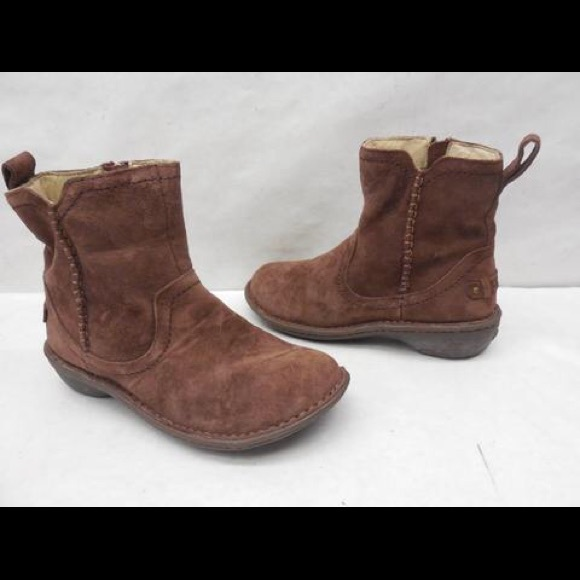 124675cb0a4 UGG AUSTRALIA 1003421 SUEDE NEEVAH ANKLE BOOTS 5