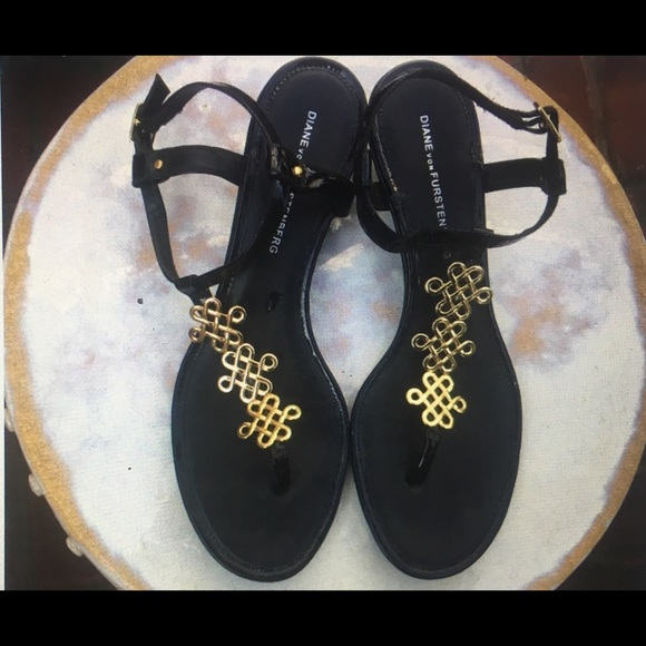 dc5803b37 Diane von Furstenberg Shoes - Tanya Tuckers Private Collection DVF Sandals