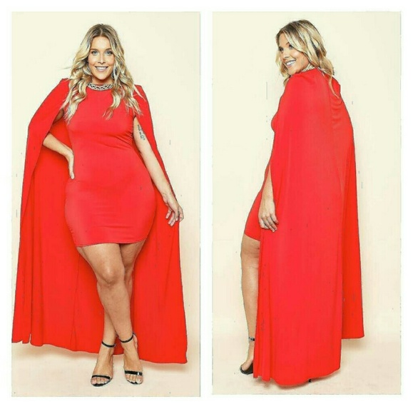Red Cape Dresses