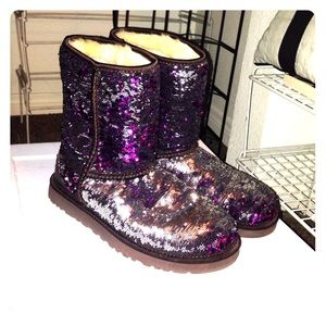 Women s Sequin Ugg Boots That Change Color on Poshmark b881374166