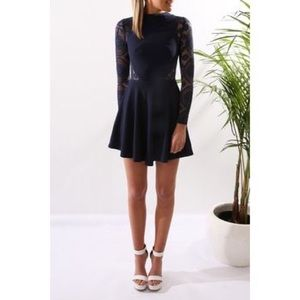 Angel Biba Dresses & Skirts - Angel Biba Long sleeve Navy Dreds