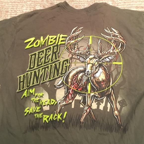 65db2427a Gander Mountian Shirts | Zombie Deer Hunting Tee Shirt | Poshmark