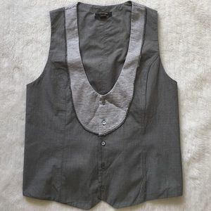Diesel Black Gold Other - Diesel Black Gold Men's Gray Vest Size L