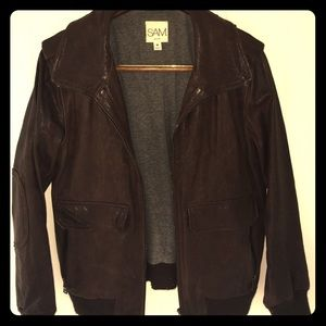 SAM. Jackets & Blazers - Brown leather jacket