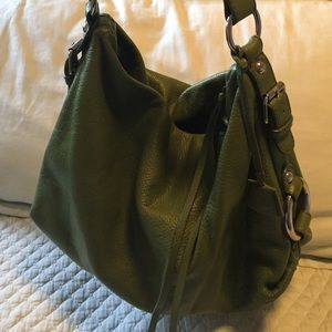 Banana Republic hobo style bag in olive green