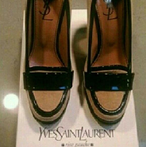 6a07cfc9904 Yves Saint Laurent Shoes | Ysl Loader Style Pump | Poshmark